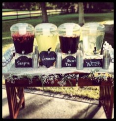 Chic Outdoor Wedding Drink Station And Bar Ideas For Winter To Try Asap21