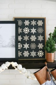 Enchanting Diy Winter Wall Art Ideas To Try Asap09