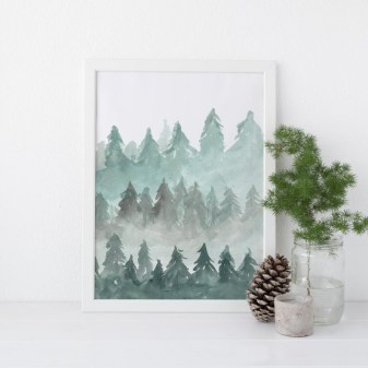 Enchanting Diy Winter Wall Art Ideas To Try Asap35