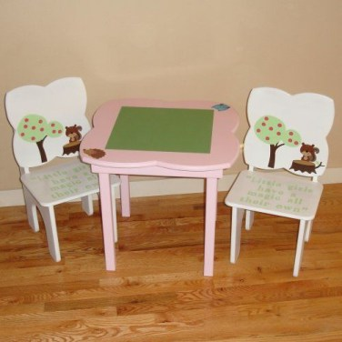 Excellent Chair And Table Design Ideas With Flower Shapes To Try Asap03