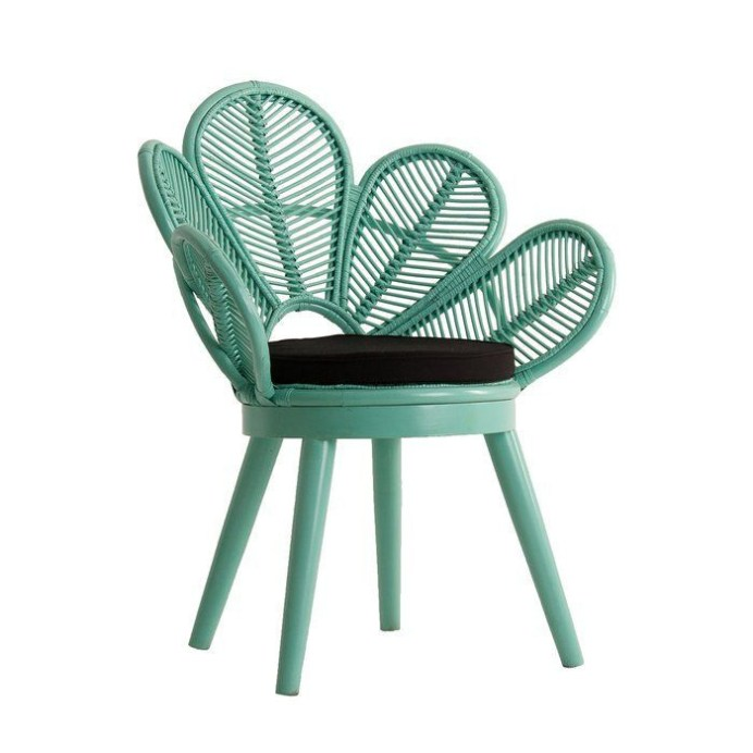 Excellent Chair And Table Design Ideas With Flower Shapes To Try Asap09