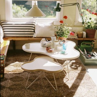 Excellent Chair And Table Design Ideas With Flower Shapes To Try Asap11
