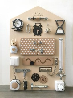 Exciting Diy Busy Boards Ideas For Toddler Learning That You Need To Try13