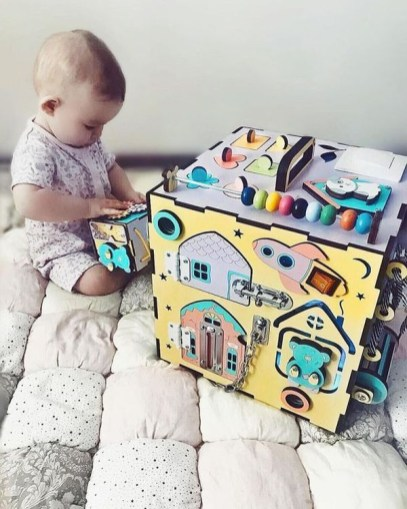 Exciting Diy Busy Boards Ideas For Toddler Learning That You Need To Try24