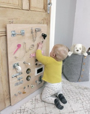 Exciting Diy Busy Boards Ideas For Toddler Learning That You Need To Try31