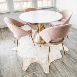Fancy Round Dining Table Design Ideas That Looks So Awesome02