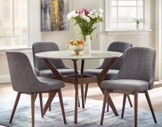 Fancy Round Dining Table Design Ideas That Looks So Awesome10