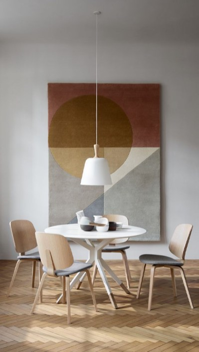 Fancy Round Dining Table Design Ideas That Looks So Awesome11