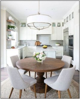 Fancy Round Dining Table Design Ideas That Looks So Awesome13