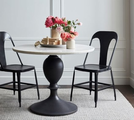 Fancy Round Dining Table Design Ideas That Looks So Awesome14