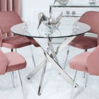Fancy Round Dining Table Design Ideas That Looks So Awesome15