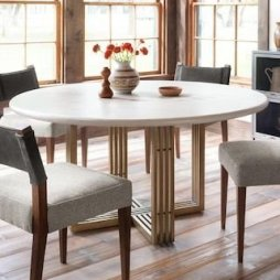 Fancy Round Dining Table Design Ideas That Looks So Awesome25