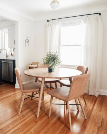 Fancy Round Dining Table Design Ideas That Looks So Awesome28