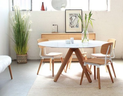 Fancy Round Dining Table Design Ideas That Looks So Awesome37