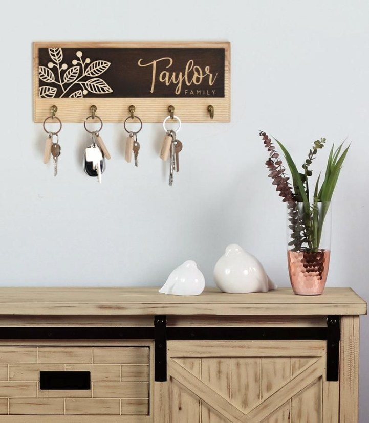 Fantastic Wall Key Holders Design Ideas That Looks So Amazing05