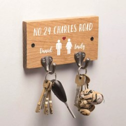 Fantastic Wall Key Holders Design Ideas That Looks So Amazing30