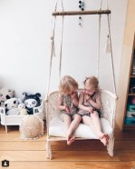 Luxury Indoor Swing Design Ideas For Kids Space To Have Right Now03