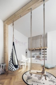 Luxury Indoor Swing Design Ideas For Kids Space To Have Right Now11