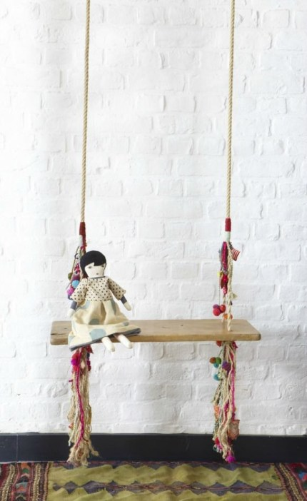 Luxury Indoor Swing Design Ideas For Kids Space To Have Right Now39