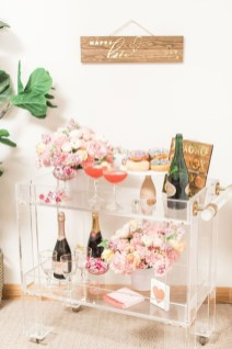 Sophisticated Bar Carts Ideas For Valentine Décor To Try Asap01