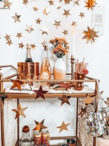 Sophisticated Bar Carts Ideas For Valentine Décor To Try Asap10