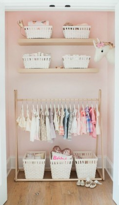 Splendid Baby Closet Organizer Design Ideas That Without Closet To Try06