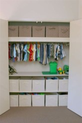 Splendid Baby Closet Organizer Design Ideas That Without Closet To Try12