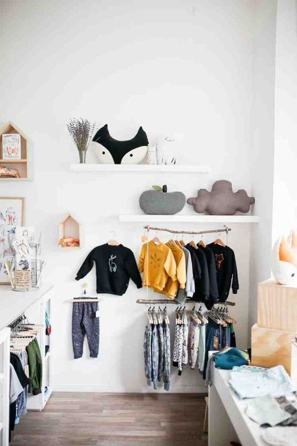 Splendid Baby Closet Organizer Design Ideas That Without Closet To Try14