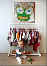 Splendid Baby Closet Organizer Design Ideas That Without Closet To Try21