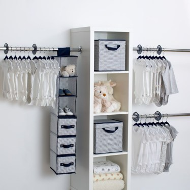 Splendid Baby Closet Organizer Design Ideas That Without Closet To Try26