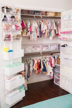 Splendid Baby Closet Organizer Design Ideas That Without Closet To Try27