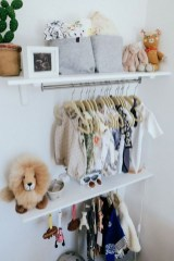 Splendid Baby Closet Organizer Design Ideas That Without Closet To Try30