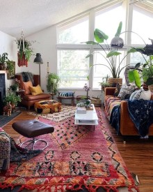 Captivating Bohemian Interior Design Ideas That Suitable For Your Apartment02