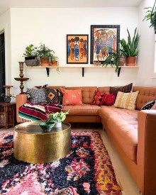 Captivating Bohemian Interior Design Ideas That Suitable For Your Apartment03