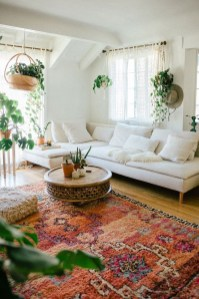 Captivating Bohemian Interior Design Ideas That Suitable For Your Apartment19