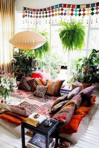 Captivating Bohemian Interior Design Ideas That Suitable For Your Apartment23