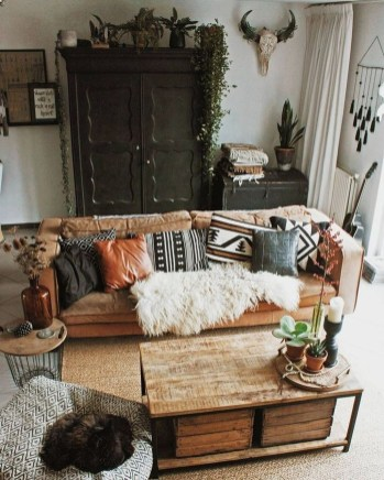 Captivating Bohemian Interior Design Ideas That Suitable For Your Apartment30