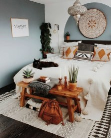 Captivating Bohemian Interior Design Ideas That Suitable For Your Apartment35