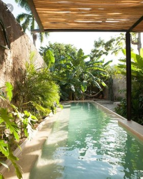 Comfy Swimming Pools Design Ideas With Stunning Natural Surroundings28
