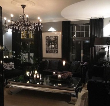 Exciting Dark Gothic Interior Designs Ideas That You Need To Try13