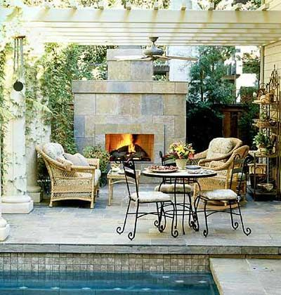 Extraordinary Poolside Nooks Design Ideas To Try For Your Relaxing15