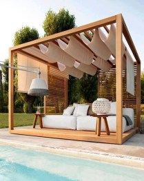 Extraordinary Poolside Nooks Design Ideas To Try For Your Relaxing21