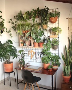 Fascinating Home Office Design Ideas With Beautiful Plants To Try Asap01