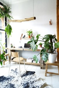Fascinating Home Office Design Ideas With Beautiful Plants To Try Asap03