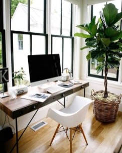 Fascinating Home Office Design Ideas With Beautiful Plants To Try Asap05