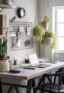 Fascinating Home Office Design Ideas With Beautiful Plants To Try Asap10
