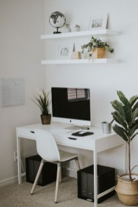 Fascinating Home Office Design Ideas With Beautiful Plants To Try Asap20