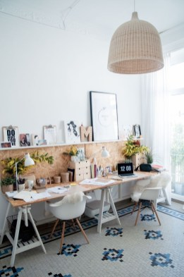 Fascinating Home Office Design Ideas With Beautiful Plants To Try Asap33
