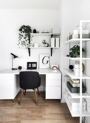 Fascinating Home Office Design Ideas With Beautiful Plants To Try Asap34
