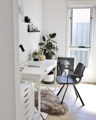 Fascinating Home Office Design Ideas With Beautiful Plants To Try Asap35